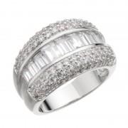 JN キュービックジルコニア テーパーエレガント リング【QVC】40代・50代レディースファッション