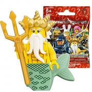 Lego (LEGO) Mini Figure Figure 7 King of the Sea Unopened Items | LEGO Minifigures Series 7 Ocean King ?8831-5? [Parallel import goods]