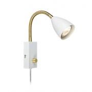 Markslöjd Ciro vägglampa flex dimbar vit