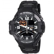 Casio G-Shock Analog Black Dial Mens Watch - GA-1000-1ADR (G435)