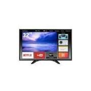 Smart TV LED 32 HD Panasonic TC-32ES600B com Ultra Vivid, Wi-Fi, Wireless Media, my Home Screen, Swipe and Share, Entradas HDMI e USB