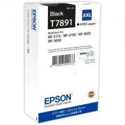 Мастилена касета Ink Cartridge EPSON Black, DURABrite Ultra, T789, Singlepack, 1 x 65 ml Black, High, XXL, C13T789140