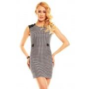 Černo-bílé elegantní dámské letní šaty Jayloucy