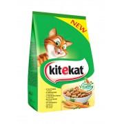 Суха храна за котки Kitekat птиче и зеленчуци 300 г