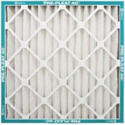 Flanders NaturalAire Pre-Pleat 40 Air Filter, MERV 8, 16 x 25 x 4-Inch, 6-Pack