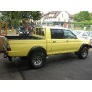 ATTELAGE MITSUBISHI L200 4x4 pick-up 1999- 2006 - rotule equerre - attache remorque BRINK-THULE