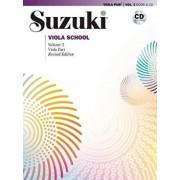 Suzuki Viola School, Vol 2: Viola Part, Book & CD [With CD (Audio)], Paperback/William Preucil