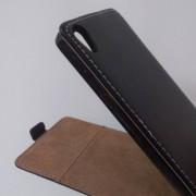 Калъф за Sony Xperia E5 F3311 флип тефтер черен Flexi