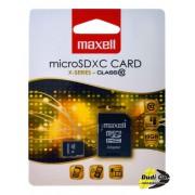 Maxell micro sdhc 32gb x-series+adapter class 10