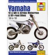 Haynes Yamaha YZ & WR 4-strokeMotocross Bikes (98 - 08) 2689