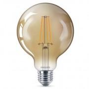 Philips Led lamp 8w 630Lm Bol Dimbaar Fillament