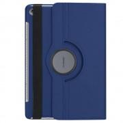 Shop4 - Huawei MediaPad M5 10.8 Hoes - Rotatie Cover Lychee Blauw