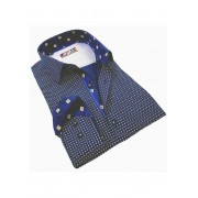 Spazio Etoile Long Sleeved Shirt Navy 11-S-1479