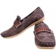 Fescon Dashing Loafers For Men(Brown)