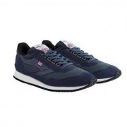 Norman Walsh wax-cotton- sneakers, 42 - navy