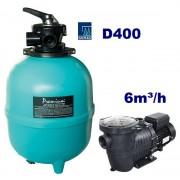 Basic Plus 6m3/h D400 250W homokszűrős vízforgató AS-040016
