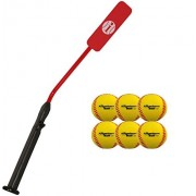 Insider Bat Size 7 (Ages 12 and Up) 6 Anywhere Balls Complete Baseball Softball Batting Practice Kit