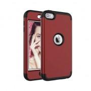 GadgetBay Coque iPod Touch 5 6 en polycarbonate Armor résistant aux chocs - Rouge