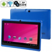 7.0 inch Android 4.0 Tablet PC 8GB 360 Degree Menu Rotate CPU: Allwinner A33 Quad Core 1.5GHz(Blue)