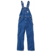 Carhartt Washed Denim Pechera Azul 26