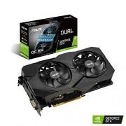 Asus DUAL-GTX1660TI-O6G-EVO GeForce GTX 1660 Ti 6 GB GDDR6 - grafische kaarten, GeForce GTX 1660 Ti, 6 GB, GDDR6, 192 bit, 7680 x 4320 pixels, PCI Express x16 3.0)