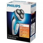 Philips YQ6108/16 Afeitadora eléctrica para el cuidado de la cara de los hombres, carga de soporte recargable/potencia de doble uso con indicador de carga(Azul cielo)