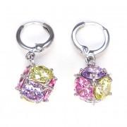 Evie Swarovski kristályos fülbevaló - Multi