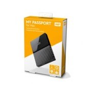 DD EXTERNO PORTATIL 1TB WD MY PASSPORT FOR MAC NEGRO 2.5/USB3.0/COPIA LOCAL/ENCRIPTACION/MAC
