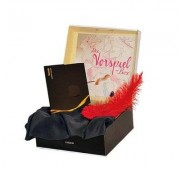 Lardon Vorspiel Geschenkbox - Buch, Feder & Seidentuch