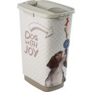 Rotho Conteneur Joy croquettes chien avec pelle 25L / 50L
