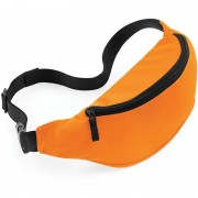 Bagbase Heuptasje/buideltasje oranje 38 cm