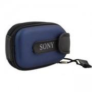 Калъф за малък фотоапарат CANON, PVC кожа, Цвят син 1027EVA