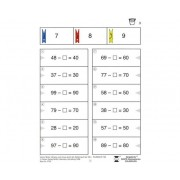 Bergedorfer Colorclip: Plus und Minus im Zahlenraum bis 100