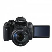 Aparat Foto Digital DSLR Canon 750D Kit EFS 18-135IS Negru