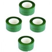 FLORAL TAPE ( 1 dozen 1/2 inch wide Green Color )