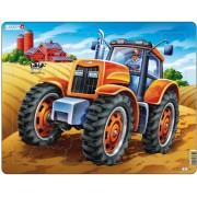Puzzle Larsen - Tractor, 37 piese (48722)