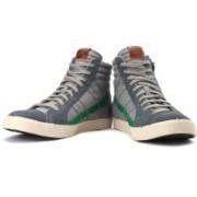 Diesel D-String Sneakers For Men(Green, Grey)