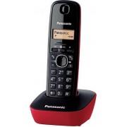 Panasonic KX-TG1611 DECT Nummerherkenning Zwart, Rood