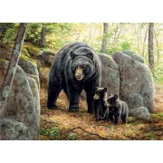 Puzzle Cobble Hill - Mama Bear, 1.000 piese (Cobble-Hill-80154)