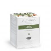 Ceai Althaus Green Matinee Pyra Pack (15 plicuri piramida)