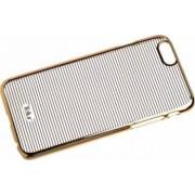 Skin Tellur iPhone 5 5S SE Dungi Orizontale Auriu