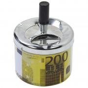 Geen Druk asbak 200 euro biljet