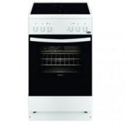 Готварска печка Zanussi ZCV550G1WA, електрическо захранване, 4 нагревателни зони, 54л. обем на фурната, инокс