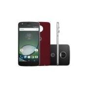 Smartphone Motorola Moto Z Play 32GB Preto e Prata - 4G 3GB RAM Tela 5.5 Câm. 16MP + Câm. Selfie 5MP
