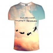 Mr. Gugu & Miss Go I'm Going To Neverland Unisex Short Sleeved T Shirt TSH643