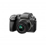 Panasonic LUMIX DMC-G7KS DSLM Mirrorless 4K Camera Kit With 14-42 Mm Lens And 32GB Memory Card (Silver)