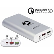 Power Bank 10200 mAh cu 2 x USB-A cu Qualcomm
