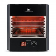 Klarstein Steakreaktor Pro, високотемпературна вътрешна скара, произведена в Германия (Steakreaktor Pro (s))