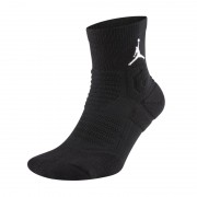 Chaussettes de basketball Jordan Ultimate Flight 2.0 Quarter - Noir