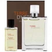 Hermes Terre d'Hermes Eau Tres Fraiche /мъжки комплект/ - EdT 75 ml + душ гел 40 ml